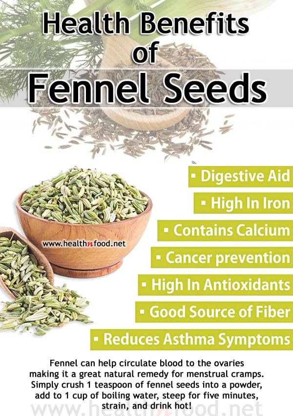 Medicinal Uses and Benefits of Fennel Seeds