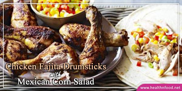 Chicken Fajita Drumsticks Recipe