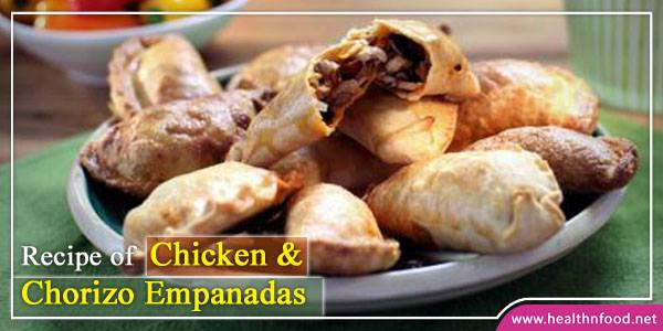 Chicken and chorizo empanadas