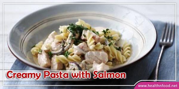 Creamy Pasta with Salmon