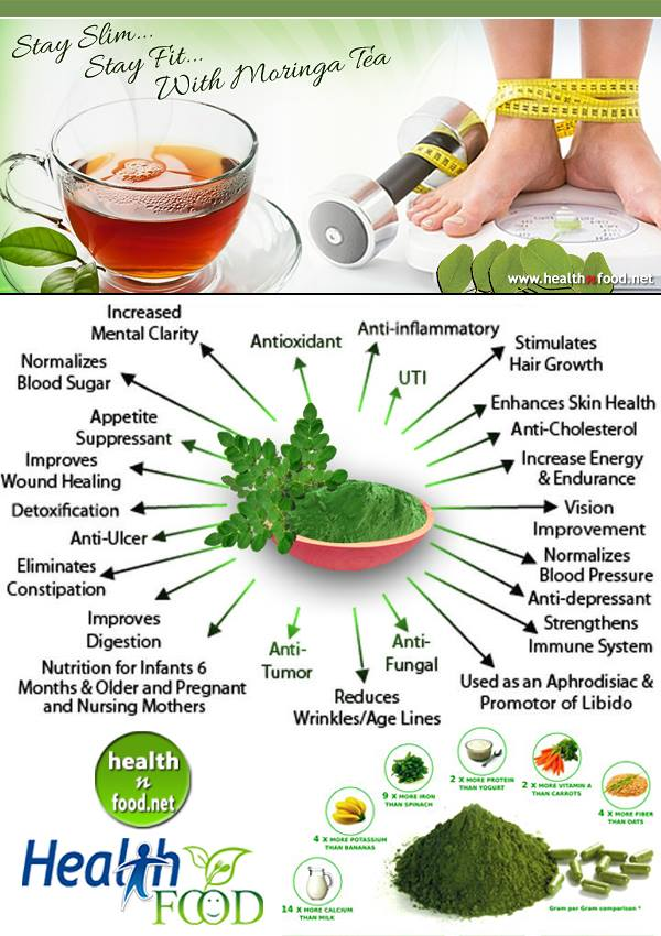 Moringa Tea Benefits and Side Effects