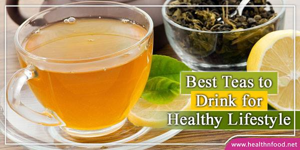 Natural Teas for Healthy Living