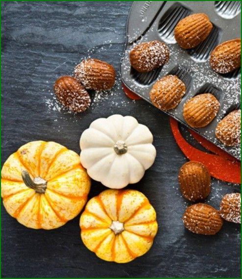 Recipe of Pumpkin Madeleines