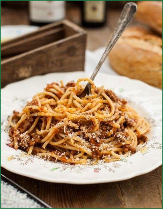 Vegetable Spaghetti Bolognese Recipe
