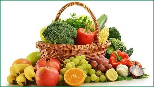 Vegetables and Fruits for High B.P