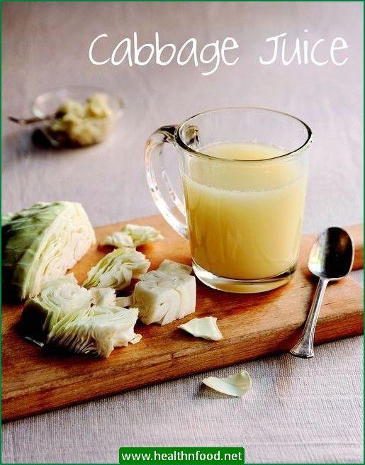Raw Cabbage Juice Recipe