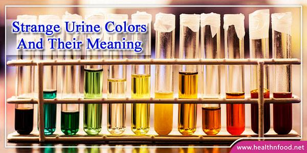 What your Urine Color says about your Health