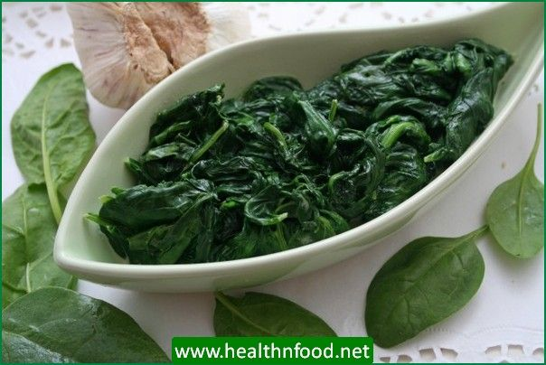 Spinach for Digestion Problems