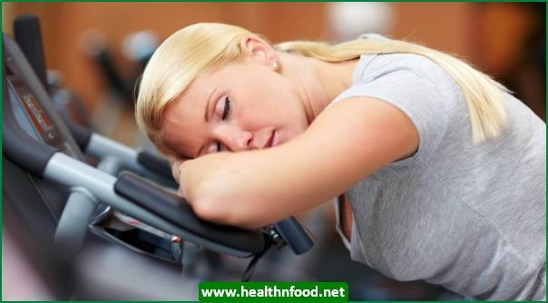 You skip exercise when you are tired