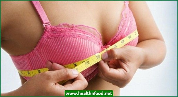Your breast size might fluctuate