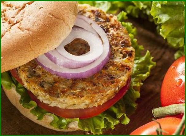 Add Oats to a Veggie Burger