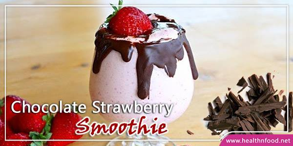 Chocolate Strawberry Milkshake