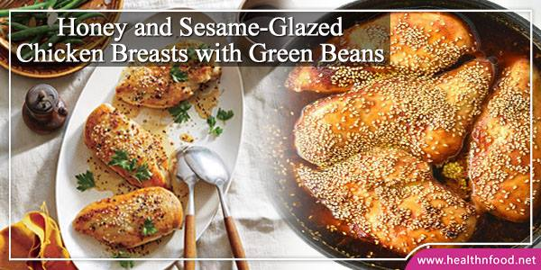 Honey and Chicken Breasts with Green Beans Recipe