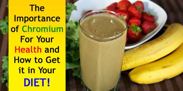 Chromium Rich Foods List and Health Benefits