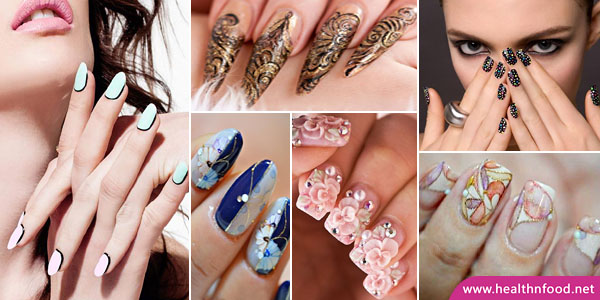 Easy and Simple Nail Art Designs and Ideas