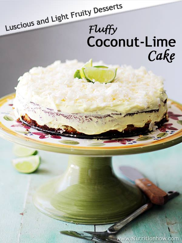 Coconut and Lime Cake Recipe