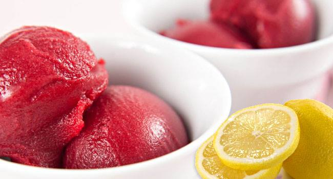 Raspberry Lemonade Sorbet Recipe