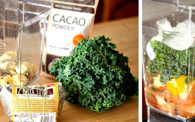 High Fiber Green Vegetables