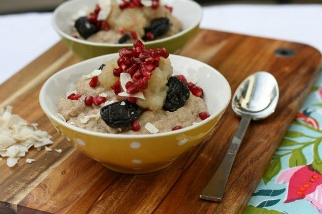 Pomegranate Quinoa and Porridge for Adrenal Treatment